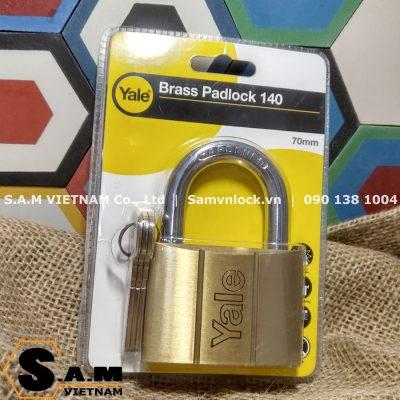 Ổ khóa treo Yale V140-70 kích thước 70mm