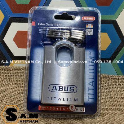 Khóa bấm chống cắt ABUS 96CSTi/60 size 60mm
