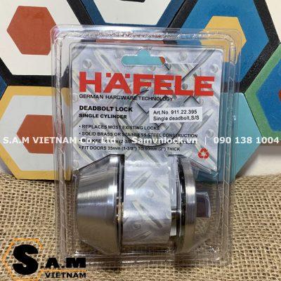 Khóa cóc phụ trợ Hafele 911.22.395 vặn chìa