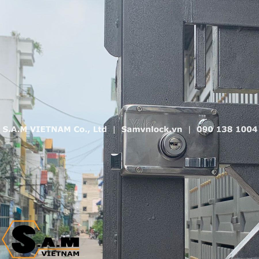Khóa cổng Yale R5122.60 US32D 2 đầu chìa