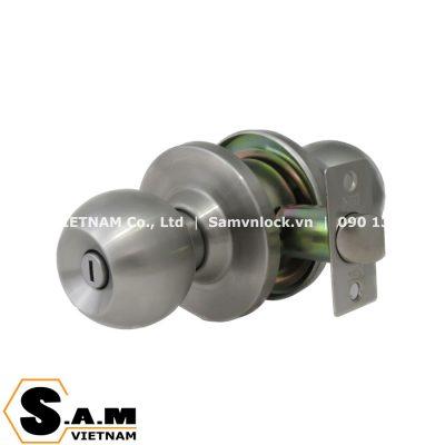 Khóa nắm tròn WC NewNEO 3372L/SS cò khóa 60mm