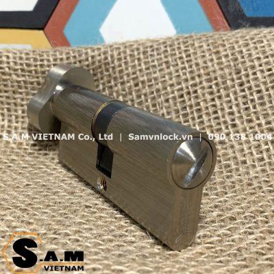Ruột khóa vệ sinh Yale 10-0513-3535-CK-22-01 70mm màu nickel mờ