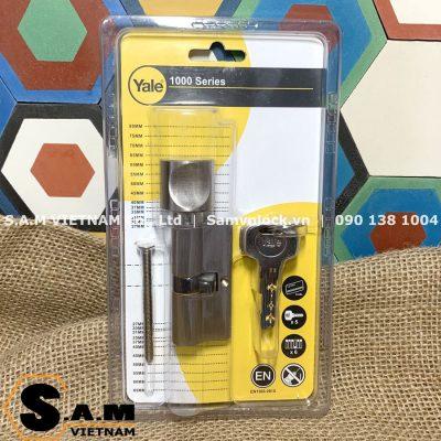 YALE 10-1003-3232-CK-22-01 Ruột khóa chốt chìa 64mm