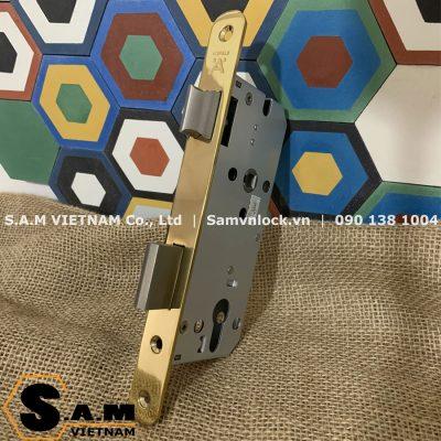 Thân khóa Hafele 911.02.154 đồng bóng PVD