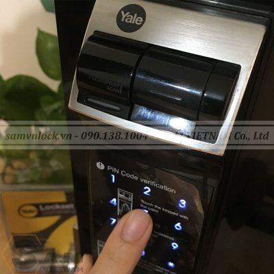Bàn phím số Khóa vân tay YALE YDM 4109+ BLACK