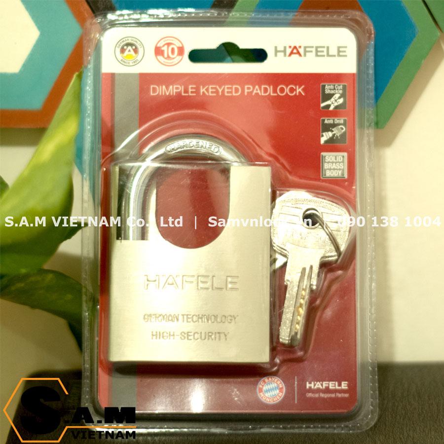 Khóa chống cắt super 60mm Hafele 482.01.949