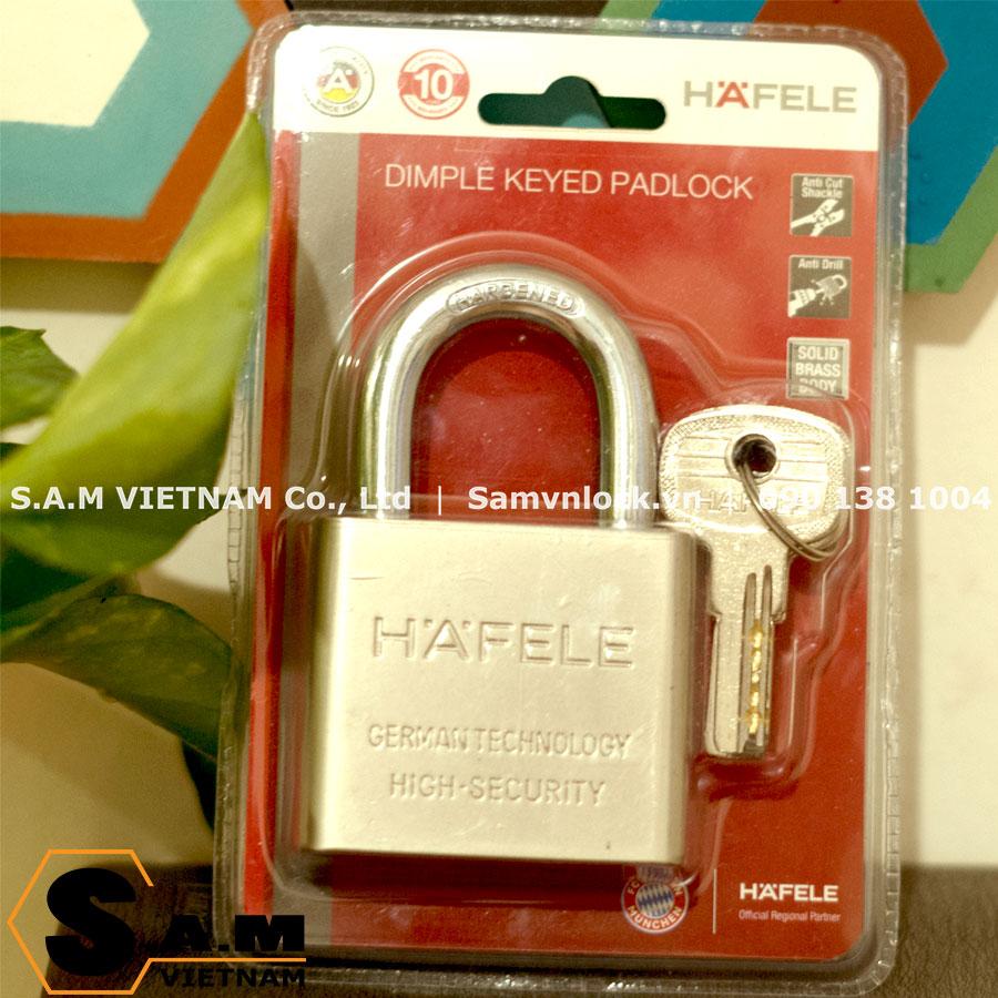 Ổ khóa treo super 60mm Hafele 482.01.946