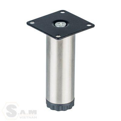 Chân bàn inox đế nhựa IVAN 08240 (đk 38mm)