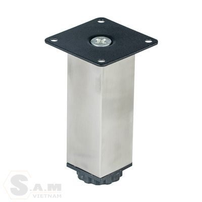 Chân bàn inox đế nhựa IVAN 08241