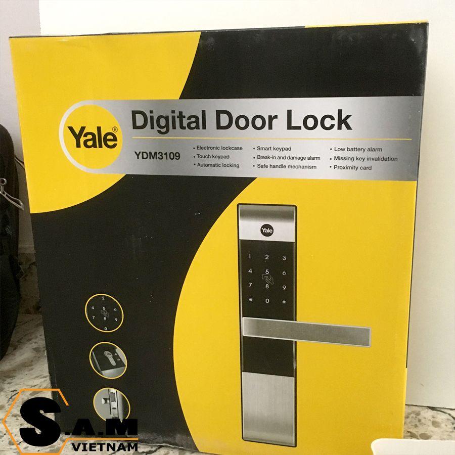 Hộp đóng gói Yale YDM 3109 plus Gold