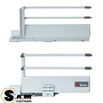 IVAN 02198.400 SPR Ray hộp giảm chấn 400mm cao 224mm