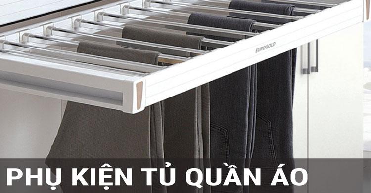 Bộ sưu tập phụ kiện tủ quần áo tại Samvnlock.vn