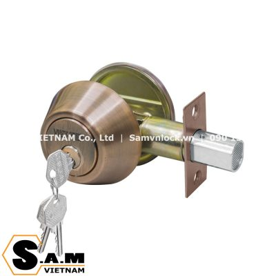 Khóa cóc chốt chìa Việt Tiệp 04102 màu nâu