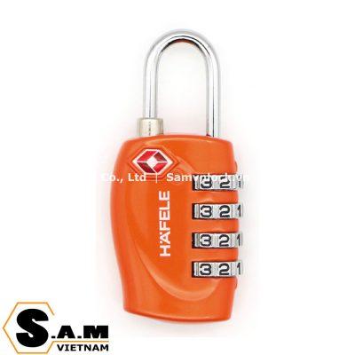 Khóa du lịch TSA Hafele 482.09.008 màu cam